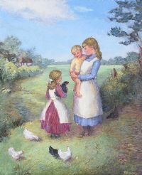 THE FAVOURITE by Phyllis Arnold UWA MSM at Ross's Auctions