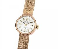 9CT GOLD LADY'S WATCH at Ross's Jewellery Auctions