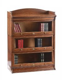 OAK SECTIONAL BOOKCASE at Ross's Auctions