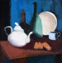 TABLE TOP STILL LIFE by Arthur Armstrong RHA RUA at Ross's Auctions