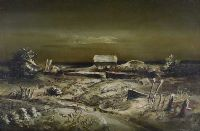 WINTER LANDSCAPE by Daniel O'Neill at Ross's Auctions