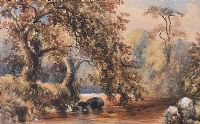 TREES BY THE RIVER by William Bingham McGuinness RHA at Ross's Auctions