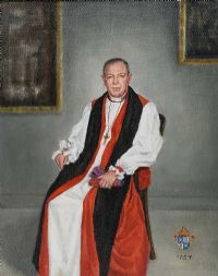 THE LATE GEORGE QUIN, BISHOP OF DOWN & DROMORE by Lydia de Burgh RUA UWS at Ross's Auctions