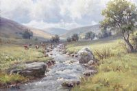RIVER DALL, COUNTY ANTRIM by Charles McAuley at Ross's Auctions