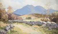 IN THE MOURNES ABOVE KILKEEL by Maurice Canning  Wilks ARHA RUA at Ross's Auctions