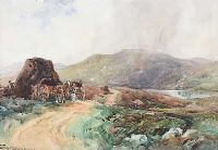 GLEN BOG, DONEGAL by Frank McKelvey RHA RUA at Ross's Auctions