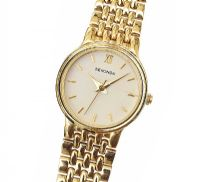 SEKONDA GOLD-PLATED STAINLESS STEEL LADY'S WRIST WATCH at Ross's Jewellery Auctions