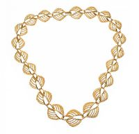 GOLD-TONE FANCY-LINK CHAIN at Ross's Jewellery Auctions