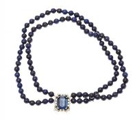 LAPIS LAZULI BEADS at Ross's Jewellery Auctions