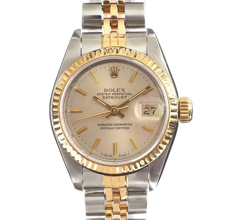 ladys rolex wrist watch