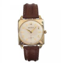 BULOVA GENT'S GOLD-TONE WRIST WATCH at Ross's Jewellery Auctions