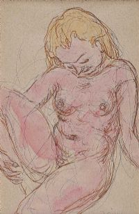 NUDE STUDY by Daniel O'Neill at Ross's Auctions