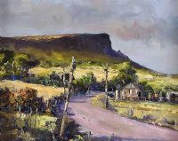 BINEVENAGH FROM THE SEA COAST ROAD by James Holmes at Ross's Auctions