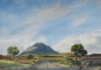 TULLY MOUNTAIN, CONNEMARA by Richard Haworth at Ross's Auctions
