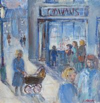 COWAN'S SWEET SHOP by Lynda Moffett at Ross's Auctions