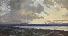 EVENING, DONEGAL by James Humbert Craig RHA RUA at Ross's Auctions