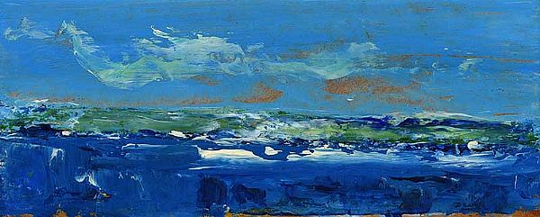 SEASCAPE by Daniel O'Neill at Ross's Online Art Auctions