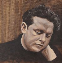 PORTRAIT OF DYLAN THOMAS by Thomas Putt at Ross's Auctions