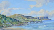 MURLOUGH BAY & FAIRHEAD, COUNTY ANTRIM by Henry J. Foy at Ross's Auctions