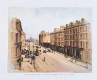 LOWER ANN STREET, BELFAST 1932 by Frank McKelvey RHA RUA at Ross's Auctions
