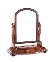 VICTORIAN MAHOGANY DRESSING TABLE MIRROR at Ross's Auctions
