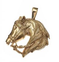 9CT GOLD HORSE PENDANT at Ross's Jewellery Auctions