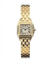 18CT GOLD CARTIER PANTHERE WRIST WATCH