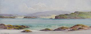 SHEEPHAVEN BAY, DONEGAL by George W.  Morrison at Ross's Auctions