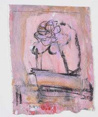 STILL LIFE, FLOWER by Basil Blackshaw HRHA HRUA at Ross's Auctions