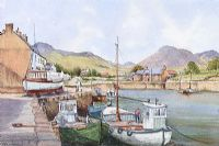 ANNALONG HARBOUR, COUNTY DOWN by David Livingston at Ross's Auctions