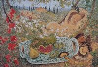 IN THE GARDEN by Pauline Bewick RHA at Ross's Auctions