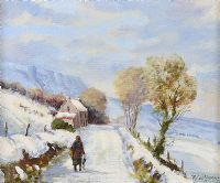 WINTER AFTERNOON, GLENARIFF by Robert T.  Cochrane at Ross's Auctions