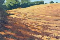 THE PLOUGHED FIELD by Frank Hallinan Flood at Ross's Auctions