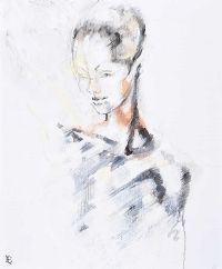 PORTRAIT by Rosaleen Sanderson at Ross's Auctions