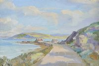 NEAR GARRON POINT, ANTRIM COAST by Henry J. Foy at Ross's Auctions