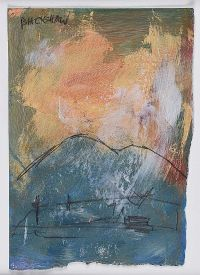 STORM IN A LANDSCAPE by Basil Blackshaw HRHA HRUA at Ross's Auctions