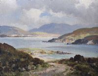 MULROY BAY, DONEGAL by Maurice Canning  Wilks ARHA RUA at Ross's Auctions