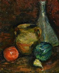 STILL LIFE, FRUIT & A VASE by Gladys Maccabe HRUA at Ross's Auctions