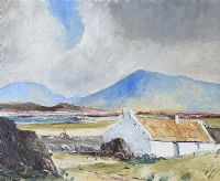 NEAR MUCKISH GAP, COUNTY DONEGAL by Norman J.  McCaig at Ross's Auctions