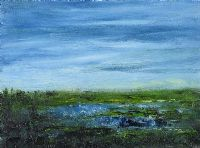 BLUE LOUGH by Gerard Maguire at Ross's Auctions