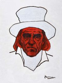 GERARD DEPARDIEU by Peter Doel at Ross's Auctions