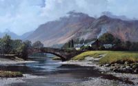 GRANGE IN BORROWDALE by Peter Symonds at Ross's Auctions