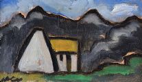 COTTAGE IN THE MOUNTAINS by Markey Robinson at Ross's Auctions