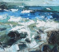 ATLANTIC AT RAMORE II by Colin Davidson RUA at Ross's Auctions