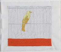YELLOW CANARY by Pilar Albarracin at Ross's Auctions