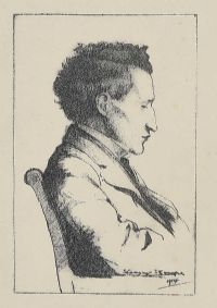 SEATED GENT by Seamus Stoupe at Ross's Auctions