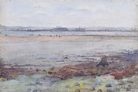 THE FORESHORE, WHITEHOUSE by James G. Hunniford at Ross's Auctions