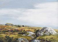CATTLE ON THE MOORS by Robert Egginton at Ross's Auctions
