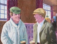 A QUIET PINT by Robert Taylor  Carson RUA at Ross's Auctions