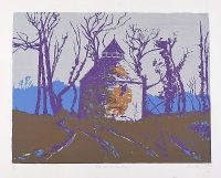DOVECOTE IN BRITTANY by David Milward at Ross's Auctions